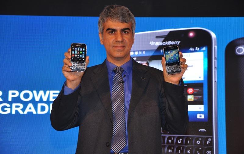 Sunil Lalvani, Managing Director, BlackBerry India.