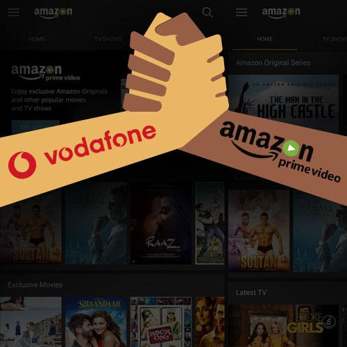 Vodafone India partners Amazon Prime Video