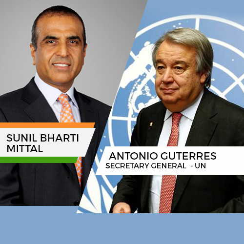 Sunil Mittal meets UN secretary general to discuss SDGs