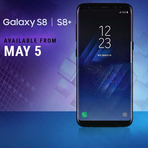 Samsung Galaxy S8 and Galaxy S8+ smartphone to be available on May 5