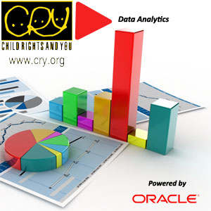 CRY unveils a Data Analytics Program Funded by Oracle