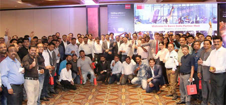 Barco showcases its projection solutions at its partner meet in Bangalore