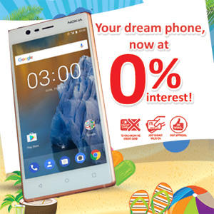 VARINDIA Home Credit offers 0% interest free loan on Nokia 3 Smartphone