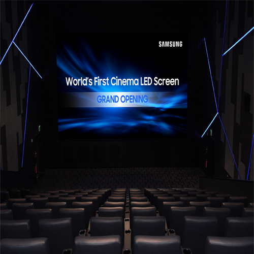 New Cinema LED Display from  Samsung makes its debut
