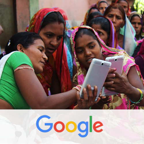 Google digitally empowers rural women in 100,000 villages
