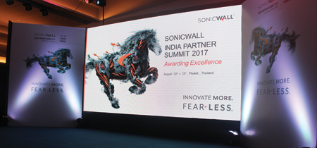 SonicWALL India Partner Summit 2017-Awarding Excellence