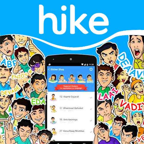 Hike comes up with personalized sticker packs for colleges across India