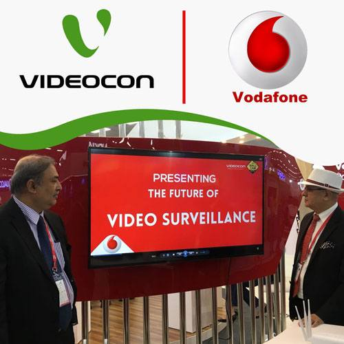 Varindia Videocon Wallcam And Vodafone Join Hands To