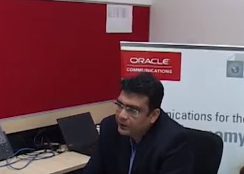 Amit Bishnoi, Senior Sales Director, Communication Global Business Unit, Oracle