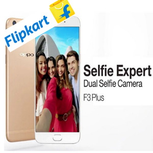 OPPO introduces F3 Plus 6GB variant exclusively on Flipkart at Rs.22,99/-