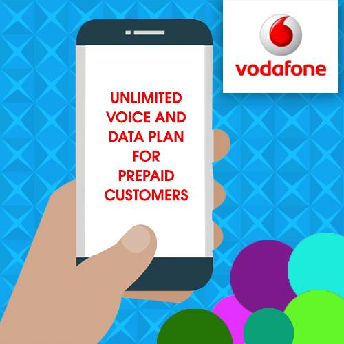 varindia vodafone announces unlimited voice and data plan. Black Bedroom Furniture Sets. Home Design Ideas