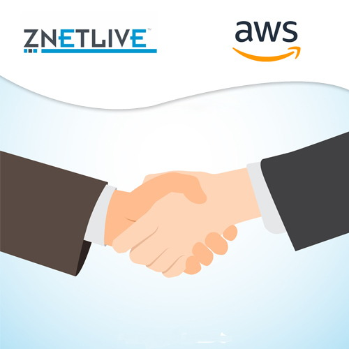 ZNetLive announces to become AWS' Channel Reseller Partner