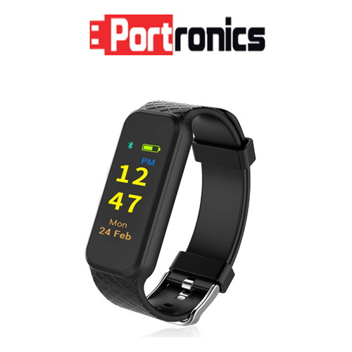 "Portronics introduces ""Yogg HR"" Fitness Tracker at Rs. 2,999/-"