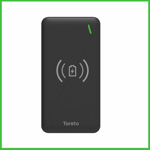 Toreto launches Wireless Power Bank – Zest Pro