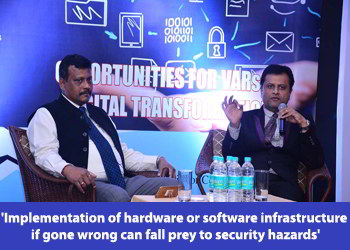 Fire Side Chat session between Dr. Deepak Kumar Sahu, Chief editor-VARINDIA and Dr. Harold D' costa, Director- Intelligent Quotient Security in 8th WIITF 2018
