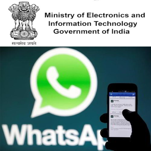 MeitY raises concern over WhatsApp data sharing