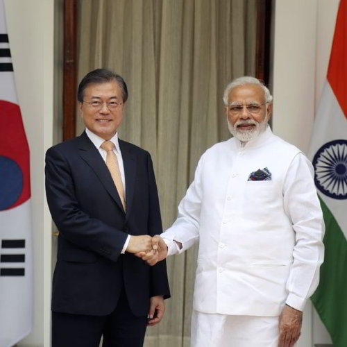 India & South Korea fix for More Than Double Trade To $50 Billion by 2030