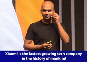 Manu Kumar Jain, Vice President, Xiaomi and Managing Director, Xiaomi India
