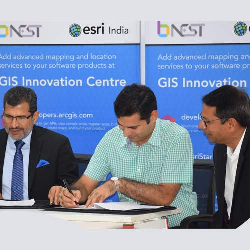 B-Nest and Esri India to provide GIS platform for the start-up community