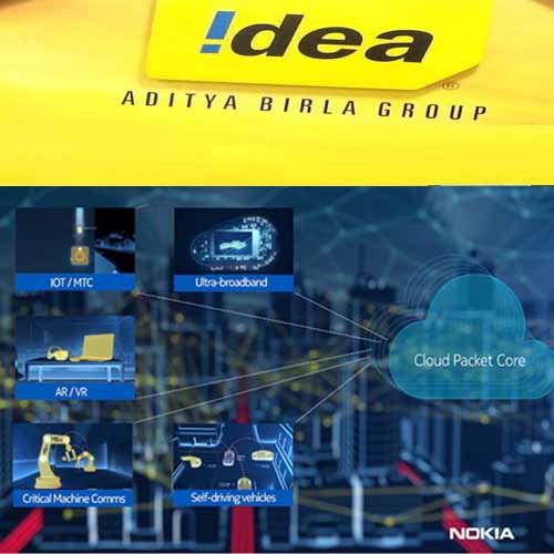 Idea Cellular uses Nokia's cloud-native core technology for digitalization