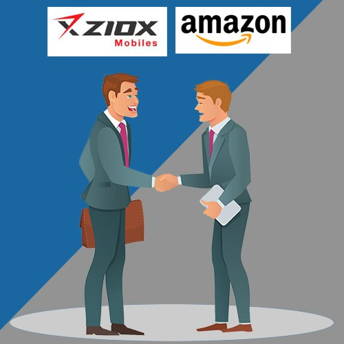 Ziox Mobiles ties up with Amazon for all its products