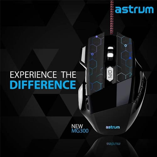 Astrum launches Gaming Mouse MG300, priced at Rs.1,049/-