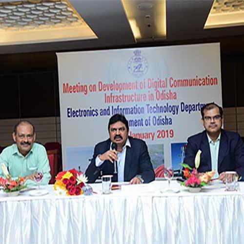 Digital Communication Infrastructure to develop in Odisha