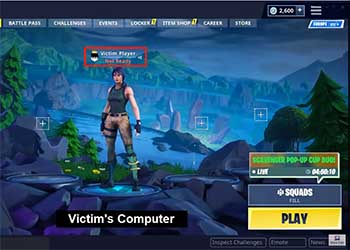 Fortnite Login Vulnerability