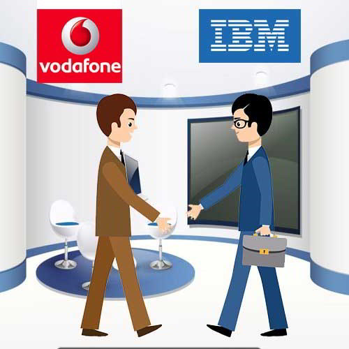 IBM collaborates with Vodafone for a $550m cloud computing deal