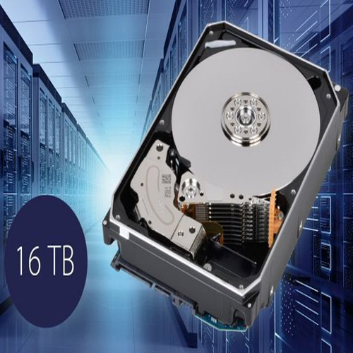 Toshiba launches 16TB MG08 series hard disk drives