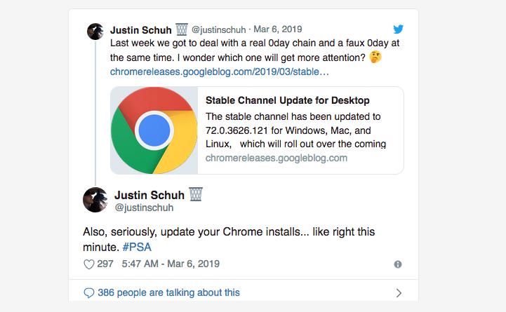 VARINDIA Google wants you to update Chrome right now - Zero