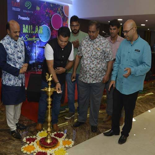 TAIT Seagate Holi Milan organized with fanfare