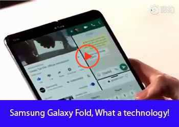 Samsung Galaxy Fold, What a technology!