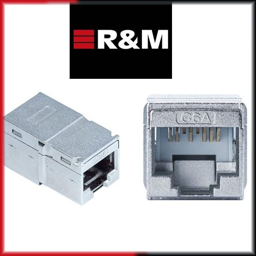 R&M introduced Compact RJ45 Coupler for  10Gigabit Ethernet