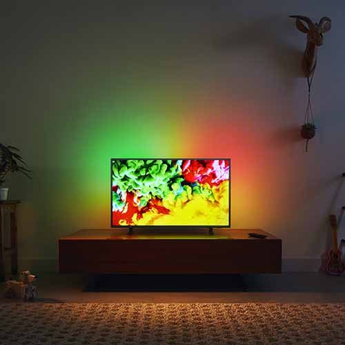 "TPV announces on 65"" Ambilight Philips television in India"