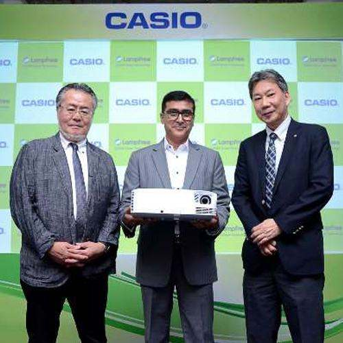 Casio launches one click wireless connection projectors