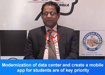 Joyjit Roy Ghatak Choudhury, Director - ITKM, SRM Institute of Science & Technology At 17th IT FORUM 2019