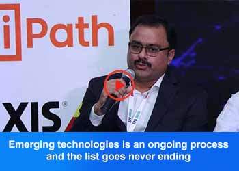Syed Kadam Murshed, VP – IT, Future Oncology Hospital at 4th Panel Discussion, 17th IT FORUM 2019