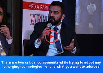 Rahul Arora, Regional Business Manager - SonicWall at 4th Panel Discussion, 17th IT FORUM 2019