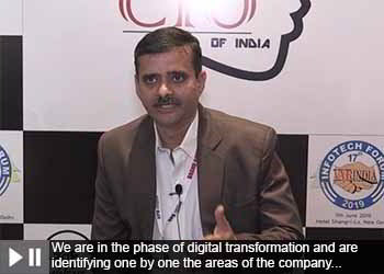Manish Thakar, General Manager - IT Dept., Hitachi HiRel Power Electronics Pvt. Ltd. at 17th IT Forum