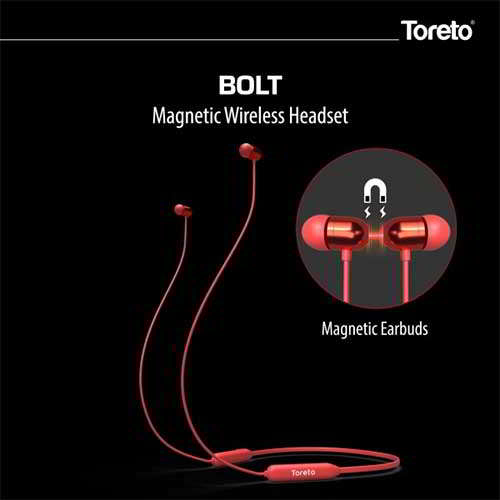 Toreto unleashes BOLT, a magnetic wireless headset