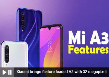 Xiaomi brings feature loaded A3 with 32 megapixel Selfie Camera