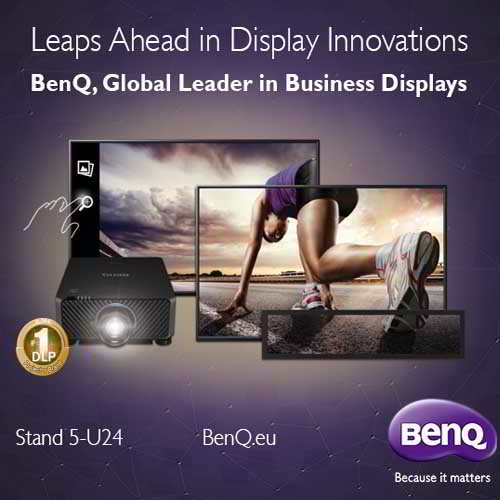 BenQ brings corporate display solutions designed for collaborative and smart workplaces