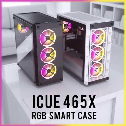 CORSAIR unveils iCUE 465X RGB Smart Case