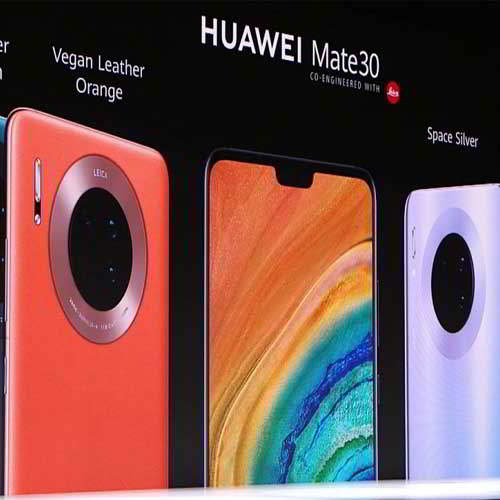 Huawei hits the smartphone market with its HUAWEI Mate 30 Series