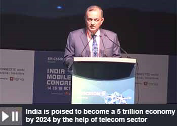 Mahendra Nahata, Director, Reliance Jio at India Mobile Congress 2019