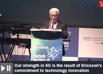 Nunzio Mirtillo, Sr. VP and Head of Market Area South East Asia, Oceania & India, Ericsson at India Mobile Congress 2019