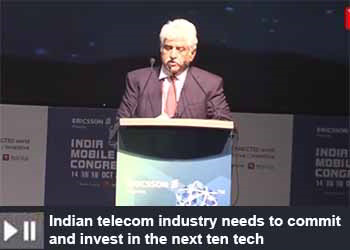 Rakesh Bharti Mittal, Co-Vice Chairman/Managing Director, Bharti Enterprises Ltd at India Mobile Congress 2019