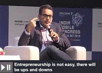 Kunal Bahl - CEO - Co-Founder - Snapdeal at India Mobile Congress 2019