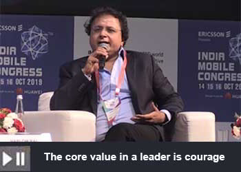 Hari Om Rai - Co-founder and Chairman & Managing Director of Lava International Limited at India Mobile Congress 2019